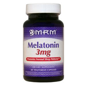 MRM Мелатонин 3 мг (60кап)