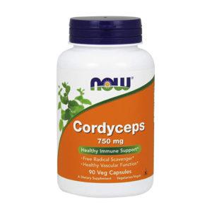 NOW Cordyceps 750 мг (90кап)