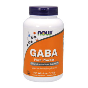 NOW Gaba Pure Powder (170гр)