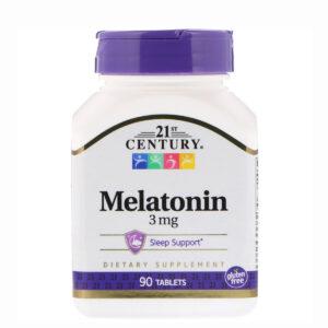 21st Century Melatonin 3 мг (90таб)