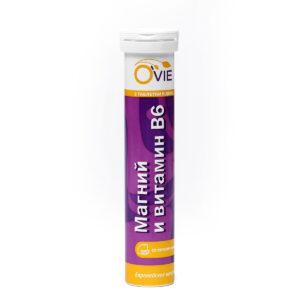 OVIE Магний и Витамин В6 (20таб)